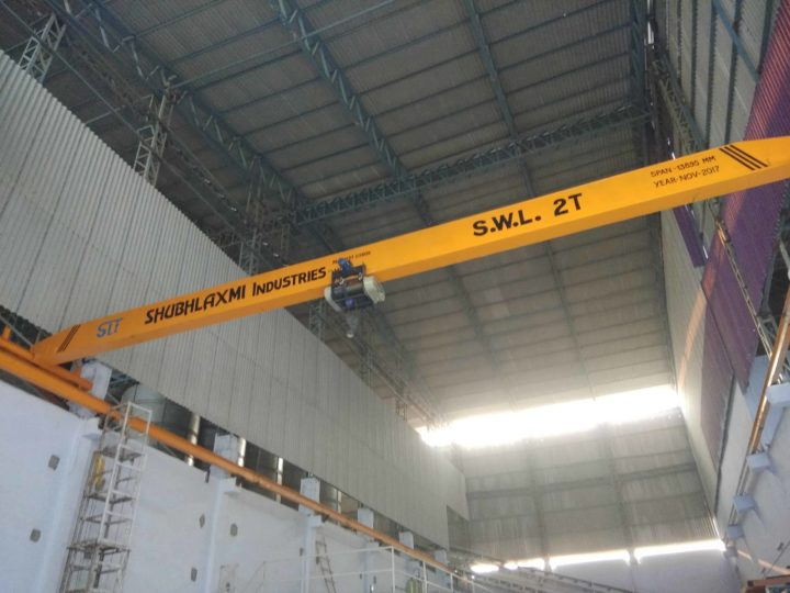 Shubhlaxmi Industries : Cranes Manufacturers in Morbi, India